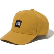 SQUARE LOGO CAP NN41911 (BK)ブリティッシュカーキ [アウトドア 帽子 ユニセックス]