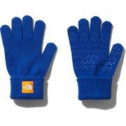 Kids Knit Glove NNJ61907 TB KFサイズ [アウトドア グローブ キッズ]