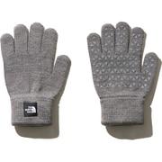 ニットグローブ Kids' Knit Glove NNJ61907 (ZZ)ミックスグレー2 [アウトドア グローブ]