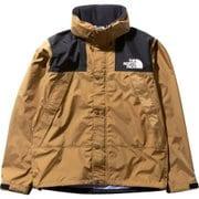 マウンテンレインテックスジャケット Mountain Raintex Jacket NP11935 (BK)ブリティッシュカーキ Sサイズ [アウトドア レインウェア メンズ]