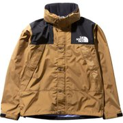 Mountain Raintex Jacket NP11935 (BK)ブリティッシュカーキ XLサイズ [アウトドア レインウェア メンズ]