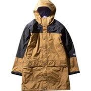 Mountain Raintex Coat NP11940 (BK)ブリティッシュカーキ Mサイズ [アウトドア レインウェア メンズ]