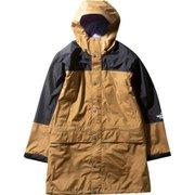 マウンテンレインテックスコート Mountain Raintex Coat NP11940 (BK)ブリティッシュカーキ XXLサイズ [アウトドア レインウェア メンズ]