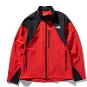 ハンマーヘッドジャケット Hammerhead Jacket NP21903 (FK)ファイアリーレッド×ブラック Mサイズ [アウトドア ジャケット メンズ]