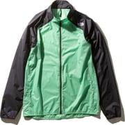 インパルスレーシングジャケット Impulse Racing Jacket NP21980 (CH)クロロフィルグリーン Mサイズ [ランニングジャケット メンズ]