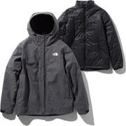 カシウストリクライメイトジャケット Cassius Triclimate Jacket NP61931 (K)ブラック Sサイズ [アウトドア 中綿インナー付きジャケット メンズ]