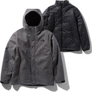 ノベルティーカシウストリクライメイトジャケット Novelty Cassius Triclimate Jacket NP61932 (Z)ミックスグレー Sサイズ [アウトドア ジャケット メンズ]