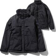 マカルトリクライメイトジャケット Makalu Triclimate Jacket NP61937 (K)ブラック Lサイズ [アウトドア ジャケット メンズ]
