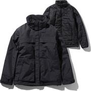 マカルトリクライメイトジャケット Makalu Triclimate Jacket NP61937 (K)ブラック XLサイズ [アウトドア ジャケット メンズ]
