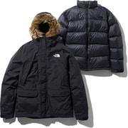 グレーストリクライメイトジャケット Grace Triclimate Jacket NP61938 (K)ブラック Lサイズ [アウトドア ジャケット メンズ]