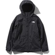 スクープジャケット Scoop Jacket NP61940 (KW)ブラック×ホワイト Lサイズ [アウトドア ジャケット メンズ]