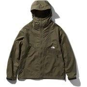 コンパクトジャケット Compact Jacket NP71830 (NT)ニュートープ Mサイズ [アウトドア ウィンドブレイカー メンズ]