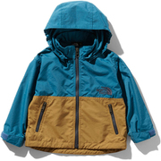 Compact Jacket NPB21810 (BB)ブルーコーラル×ブリティッシュカーキ 80 [アウトドア ジャケット 子ども用]