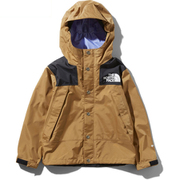 Mountain Raintex Jacket NPJ11908 BK 130サイズ [アウトドア ジャケット キッズ]