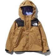 Mountain Raintex Jacket NPJ11908 BK 150サイズ [アウトドア ジャケット キッズ]