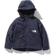 コンパクトノマドジャケット Compact Nomad Jacket NPJ71954 (UN)アーバンネイビー 130cm [アウトドア ジャケット キッズ用]