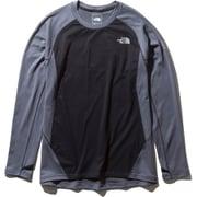 ロングスリーブハイブリッドエンデューロクルー L/S Hybrid Enduro Crew NT61973 (ZC)ミックスチャコール Sサイズ [ランニングシャツ メンズ]