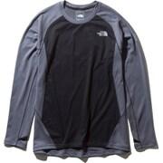 ロングスリーブハイブリッドエンデューロクルー L/S Hybrid Enduro Crew NT61973 (ZC)ミックスチャコール XLサイズ [ランニングシャツ メンズ]