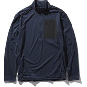 L/S Superhike Zip Up NT61905 UN Lサイズ [アウトドア カットソー メンズ]