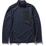 L/S Superhike Zip Up NT61905 UN XLサイズ [アウトドア カットソー メンズ]