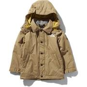 ウィンターコーチジャケット Winter Coach Jacket NSJ61903 (BK)ブリティッシュカーキ 110cm [スキーウェア キッズ]