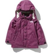 ウィンターコーチジャケット Winter Coach Jacket NSJ61903 (RX)ロックスバリーピンク 130cm [スキーウェア キッズ]