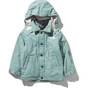 ウィンターコーチジャケット Winter Coach Jacket NSJ61903 (TG)トレリスグリーン 110cm [スキーウェア キッズ]