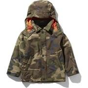 ノベルティーウィンターコーチジャケット Novelty Winter Coach Jacket NSJ61904 (WD)ウッドランド2 110cm [スキーウェア キッズ]