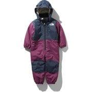 スノーワンピース Snow Onepiece NSJ61910 (RX)ロックスバリーピンク 100cm [スキーウェア ベビー・キッズ]