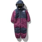 スノーワンピース Snow Onepiece NSJ61910 (RX)ロックスバリーピンク 80cm [スキーウェア ワンピース キッズ]