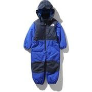 スノーワンピース Snow Onepiece NSJ61910 (TB)TNFブルー 80cm [スキーウェア ワンピース キッズ]