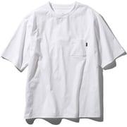 ショートスリーブエアリーポケットティー S/S Airy Pocket Tee NT11968 (W)ホワイト Lサイズ [アウトドア カットソー メンズ]