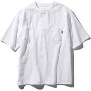 ショートスリーブエアリーポケットティー S/S Airy Pocket Tee NT11968 (W)ホワイト Mサイズ [アウトドア カットソー メンズ]