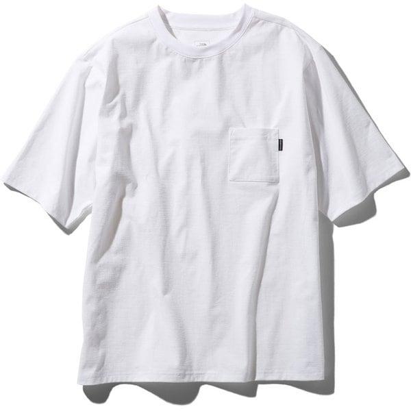 ショートスリーブエアリーポケットティー S/S Airy Pocket Tee NT11968 (W)ホワイト XLサイズ [アウトドア カットソー メンズ]