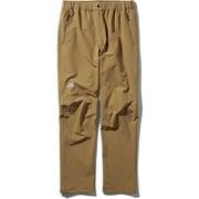 アルパインライトパンツ Alpine Light pants NT52927 (BK)ブリティッシュカーキ XLサイズ [アウトドア パンツ メンズ]