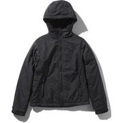 コンパクトノマドジャケット Compact Nomad Jacket NPW71933 (K)ブラック Mサイズ [アウトドア ジャケット レディース]