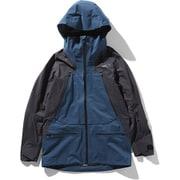 FL PURIST JACKET NS51910 (BW)ブルーWK Lサイズ [スキーウェア ジャケット メンズ]
