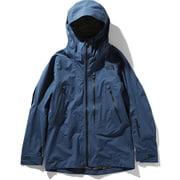 FL FREETHINKER JK NS51912 (BW)ブルーウィングティール×ウェザードブラック Sサイズ [スキーウェア ジャケット メンズ]