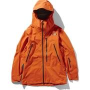 FL FREETHINKER JK NS51912 (PW)パパイヤオレンジ×ウェザードブラック Sサイズ [スキーウェア ジャケット メンズ]