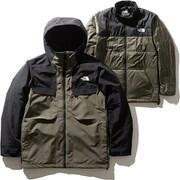 フォーバレルトリクライメイトジャケット Fourbarrel Triclimate Jacket NS61904 (NT)ニュートープ Lサイズ [スキーウェア ジャケット メンズ]