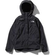 スクープジャケット Scoop Jacket NPW61940 (KW)ブラック×ホワイト Mサイズ [アウトドア ジャケット レディース]