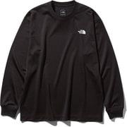 L/S Air Vent Tee NT81932 (K)ブラック Lサイズ [アウトドア カットソー メンズ]