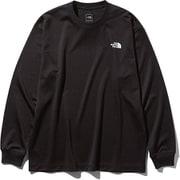 L/S Air Vent Tee NT81932 (K)ブラック Mサイズ [アウトドア カットソー メンズ]