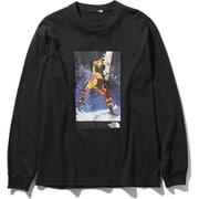 RAGE LS TEE NT81965 (K)ブラック XLサイズ [アウトドア カットソー メンズ]
