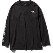 L/S UA GRAPHC CREW NT81973 (K)ブラック Lサイズ [アウトドア カットソー メンズ]