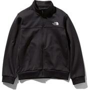 マウンテントラックジャケット Mountain Track Jacket NTJ61972 (K)ブラック 130サイズ [アウトドア ジャケット キッズ]
