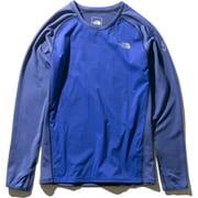 L/S HYBRID END CR NTW61973 (ZB)ミックスブルー Sサイズ [アウトドア カットソー レディース]