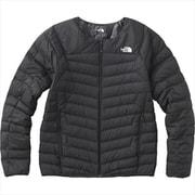 サンダーラウンドネックジャケット Thunder Roundneck Jacket NY81813 (K)ブラック Mサイズ [アウトドア ダウンウェア メンズ]