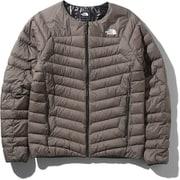 サンダーラウンドネックジャケット Thunder Roundneck Jacket NY81813 (WM)ワイマラナーブラウン XLサイズ [アウトドア ダウンウェア メンズ]