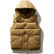 キャンプシェラベスト CAMP Sierra Vest NY81932 (BK)Bカーキ XLサイズ [アウトドア ダウンベスト メンズ]